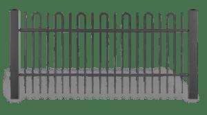 AW 10 08 style wisniowski 300x166 - Przęsła ogrodzeniowe