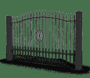 basic aw.10.94 ogrodzenia wisniowski 300x262 - Przęsła ogrodzeniowe
