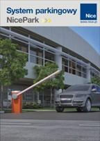 NicePark okladka - Napędy do bram Nice