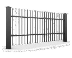 SEGMENT OGRODZENIOWY WISNIOWSKI 06 1 300x243 - Ogrodzenia