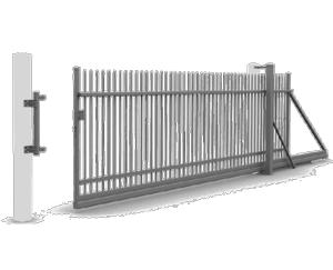 bramy przesuwne reczne wisniowski 1 300x243 - Ogrodzenia